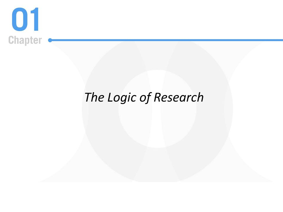 The Logic of Research