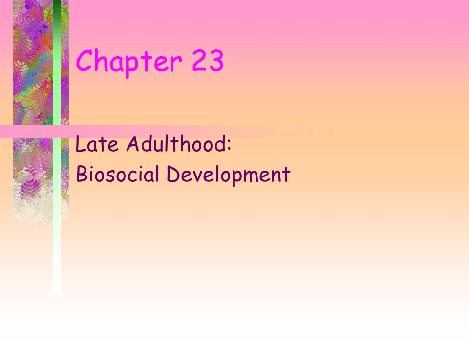 late adulthood case study View lab report - case study 5 late adulthooddocx from apsy 295 at azusa pacific case study late adulthood or endings 1 case study late adulthood desiree a vest azusa pacific university late.