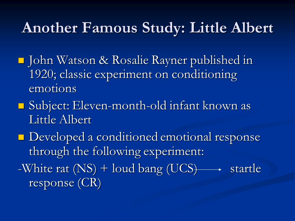watson and rayner 1920 pdf