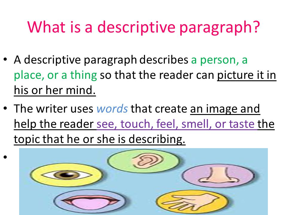 describing paragraph How can the answer be improved.