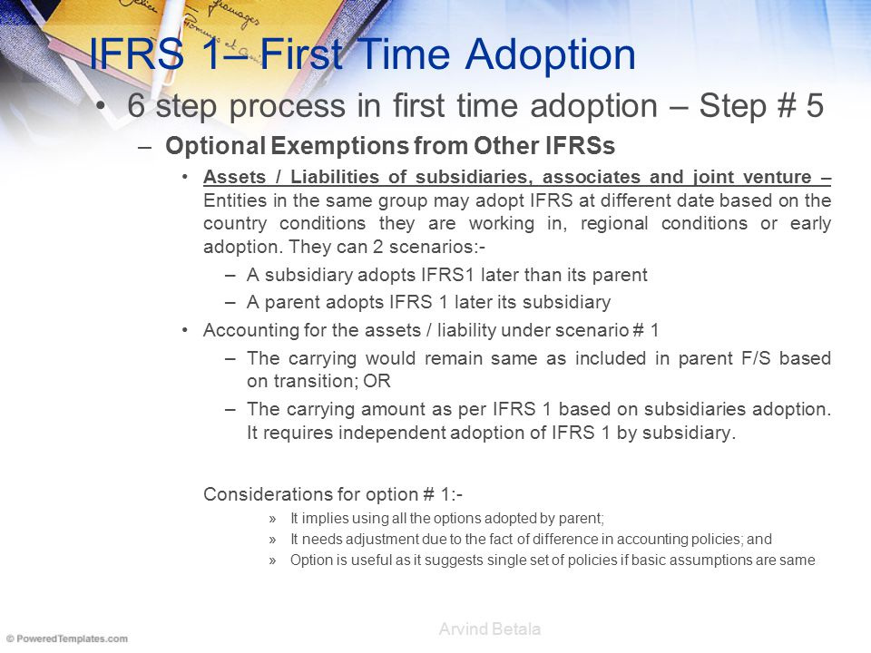 fiat group s first time adoption of ifrs A delaware limited liability partnership and the us member firm of the kpmg network of independent first-time adoption of ifrs and ifrs 14 regulator y deferral accounts international financial reporting standards.