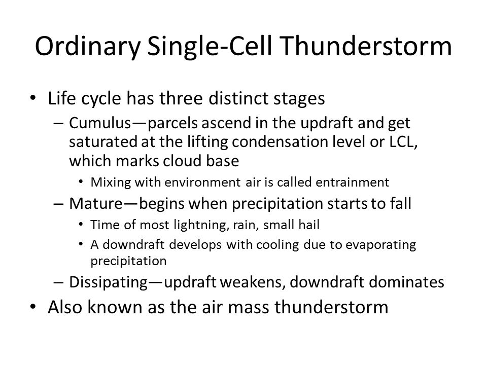 Thunderstorms and Tornadoes - ppt download