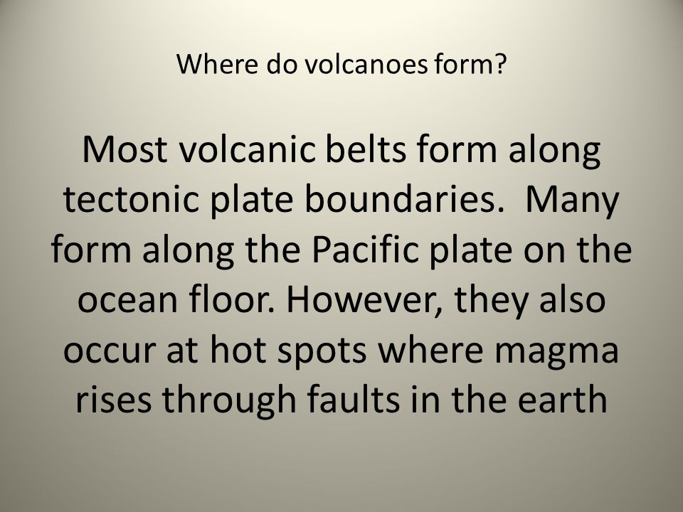 Earthquakes and Volcanoes Review - ppt video online download
