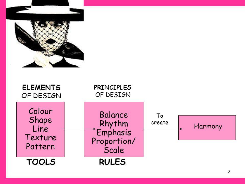 Elements of Design ©PDST Home Economics. - ppt video online download