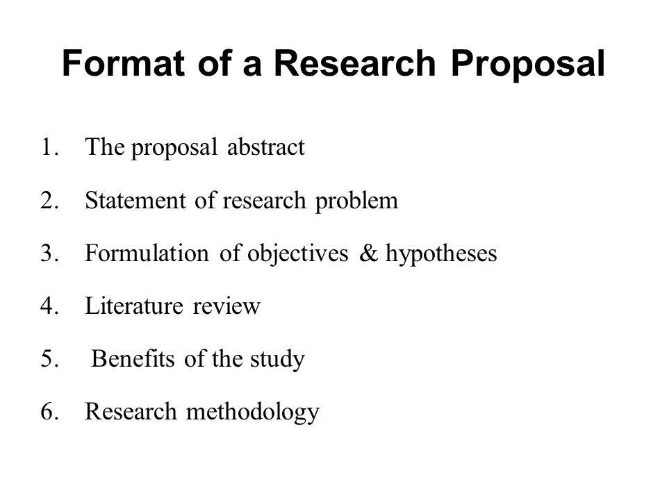statement of a problem in a research proposal Formulating problem statements: using audience awareness to contextualize your research goals  a persuasive problem statement is the backbone of the proposal.