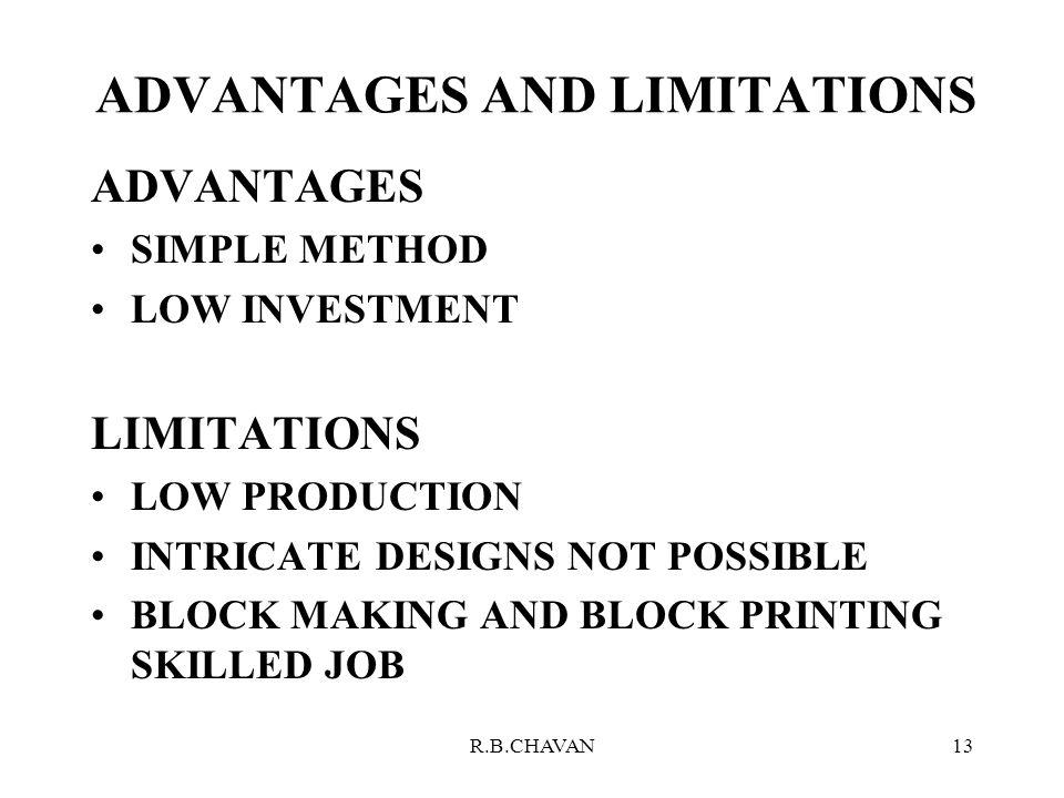 job design advantages and limitations It discusses the characteristics, advantages and disadvantages of different   five elements create an organizational structure: job design,.