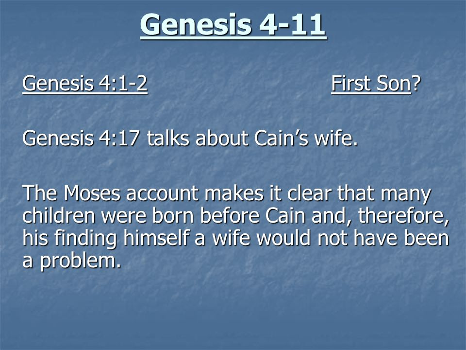 the genesis and presentation essay View essay - essay 1 - genesis 1-11 from bibl 105 at liberty what does genesis 1-11 teach regarding the natural world, human identity, human relationships, and.