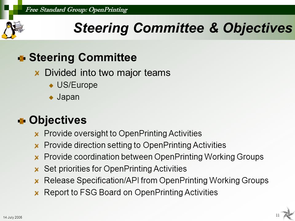 Steering Committee & Objectives