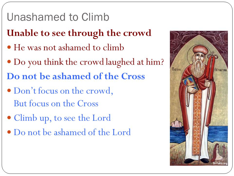 Unashamed to Climb Unable to see through the crowd