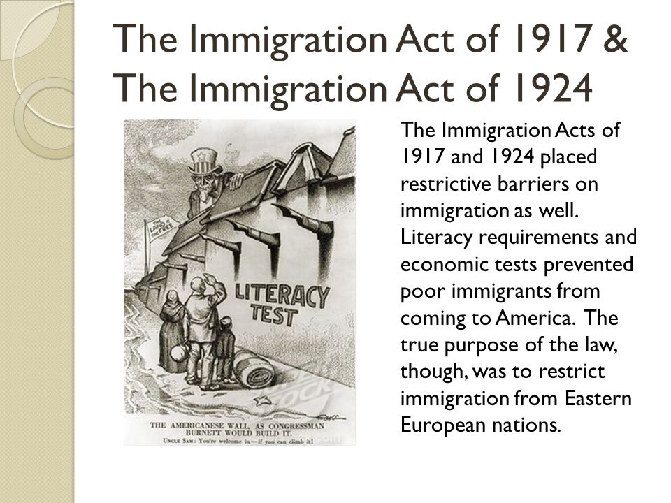 immigration act 1924 dbq Dbq essay – 674 words – on immigration act of 1924 dbq one such example was the immigration act of 1924, which was signed into law on may 26.