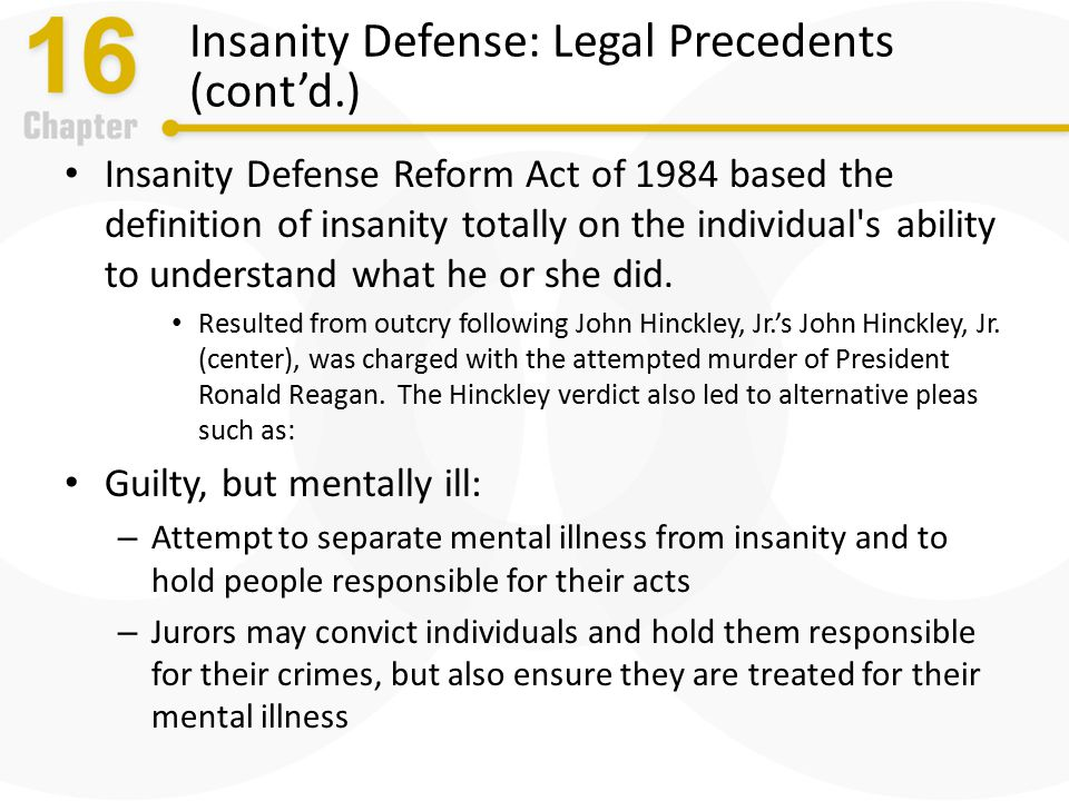 guilty but mentally ill vs not May 1985] guilty but mentally ill 603 requirement of moral blameworthiness which is at the heart of our fundamental concept of ordered liberty,7 inherited from the english common law, and thereby guaranteed by.