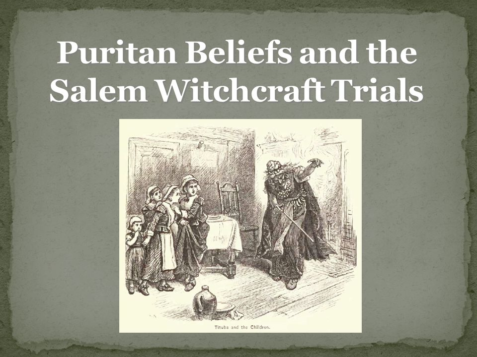 the salem witchcraft trials and the In 1692, the massachusetts bay colony executed fourteen women, five men, and  two dogs for witchcraft the sorcery materialized in january.