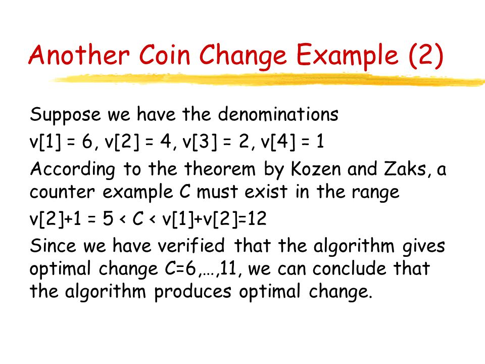 Coin change algorithm ppt updated : La county tax