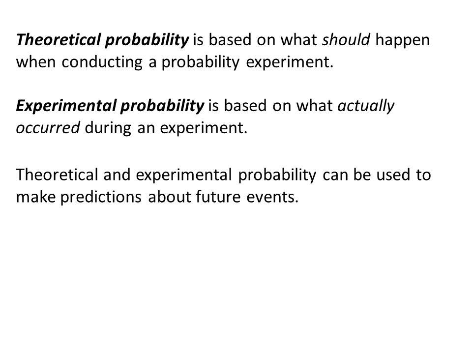 Experimental probability worksheet ks3 2615850 - virtualdir.info