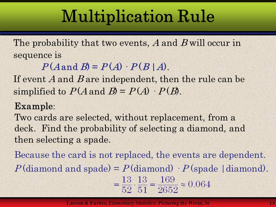 how to find the probability of cards with replacement