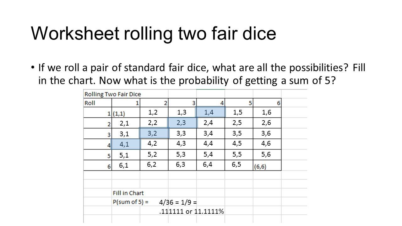Probability ppt video online download – 3-2-1 Worksheet
