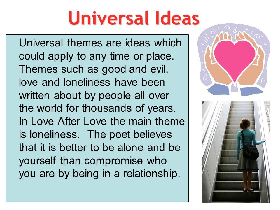 Universal Ideas