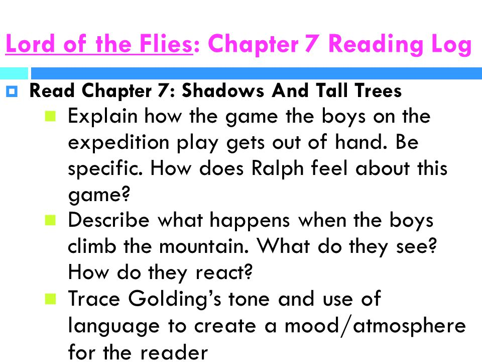 Lord of the Flies Reading Guide - ppt download