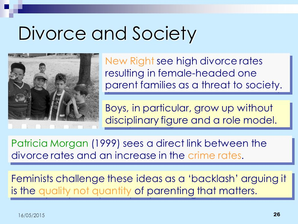 an analysis of the divorce rates in society Understanding the sociological analysis of  including many aspects of society divorce is playing an active role in  rates of divorce many.