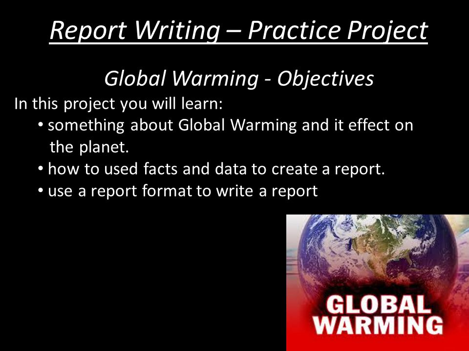 technical report writing on global warming The liberal media machine has spent decades bulldozing anyone who tells you global warming is a sham they even came up with a clever little title — deniers every time a heat wave hits, every time a picture of a lone polar bear gets taken    the left pounds the table for environmental reform.