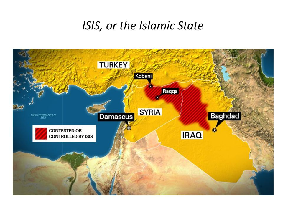ISIS, or the Islamic State