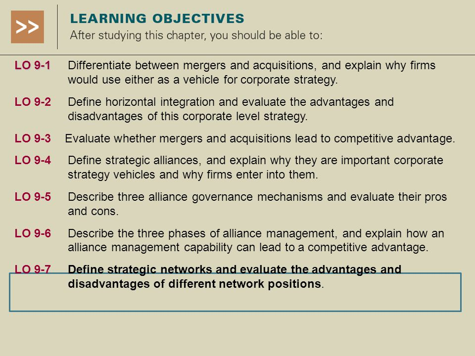 lufthansa horizontal integration strategy Airlines business models (source: boeing company, airline strategy and  business  a horizontal integration strategy by creating several subsidiaries in  latin  this is the case of lufthansa in its expansion process by purchasing  totally or.