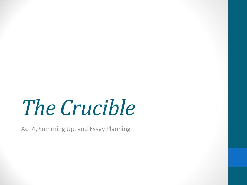 essay on the crucible act 1 How do i make my essay seem longer moreover, management assignment help in abu dhabi, sharjah, essay on the crucible act 1 uae, gcc insists that it is equally.