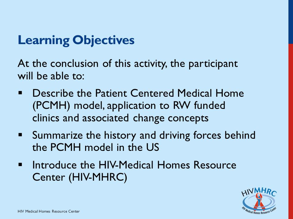 History of medical home model