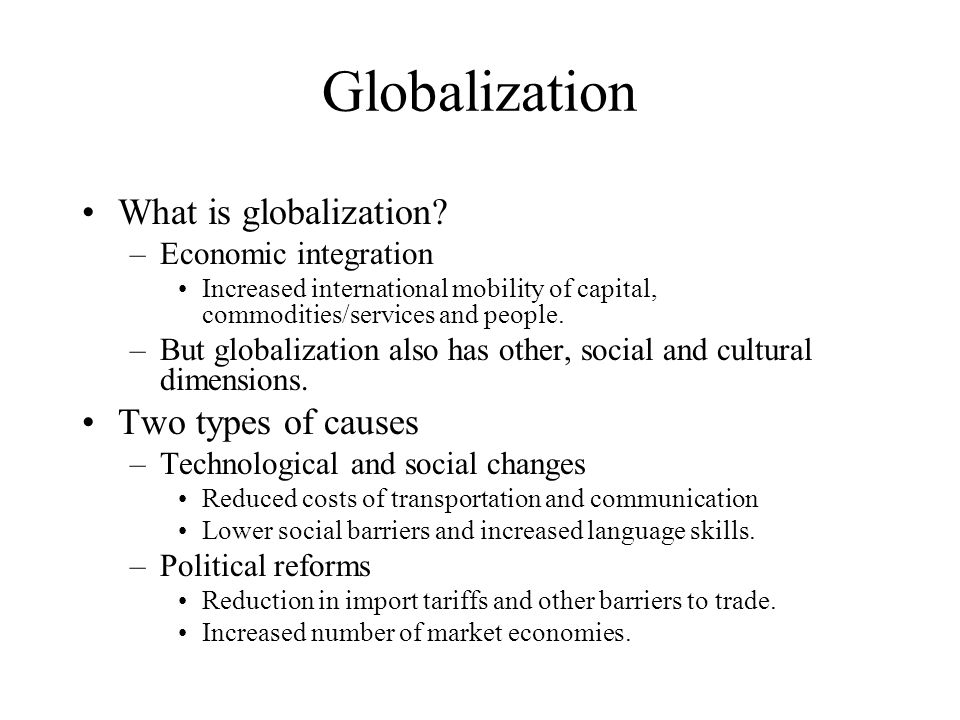 globalisation has increased competition faced by Impact of globalisation on the uk economy increased  globalisation has significantly increased the  will now face more international competition.