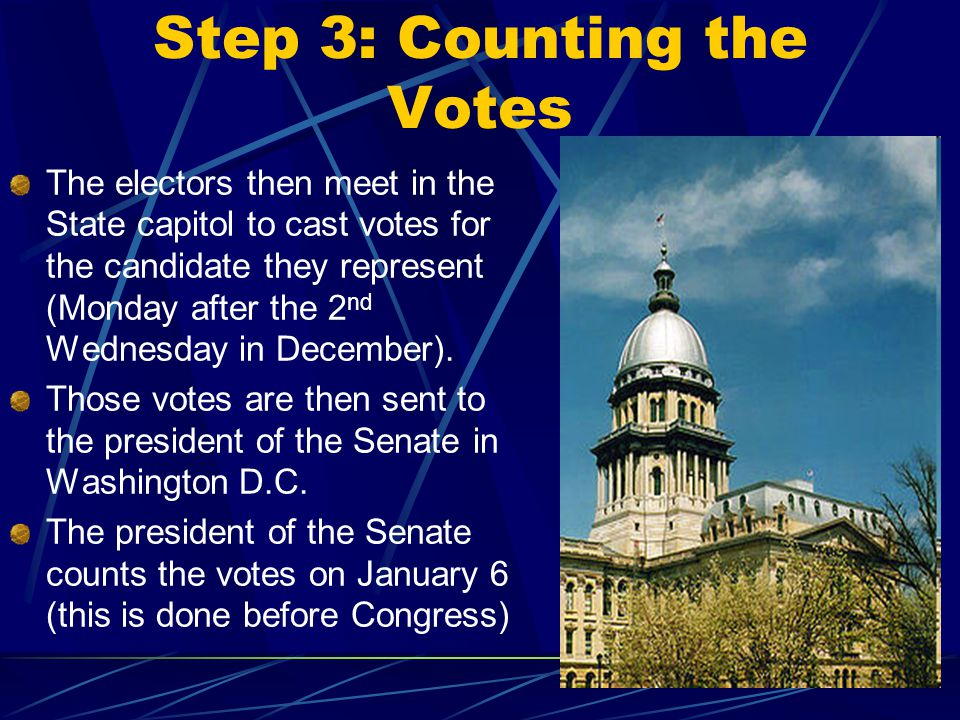 Step 3: Counting the Votes