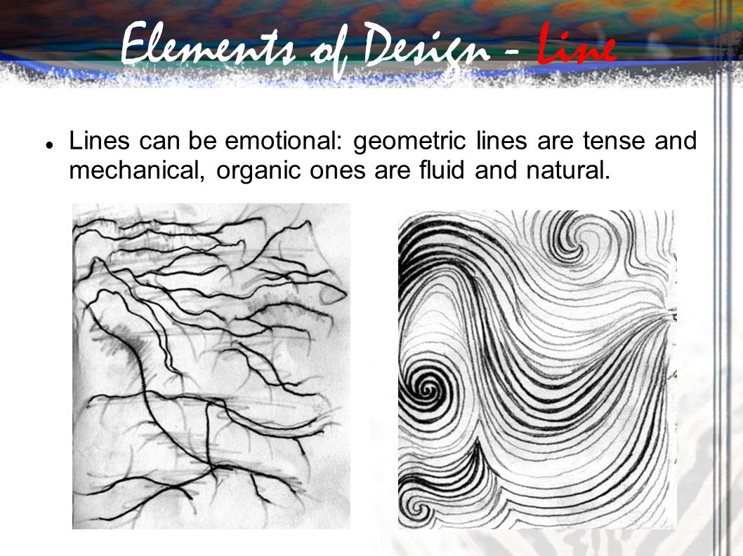 Emotional Lines In Art : Ppt download