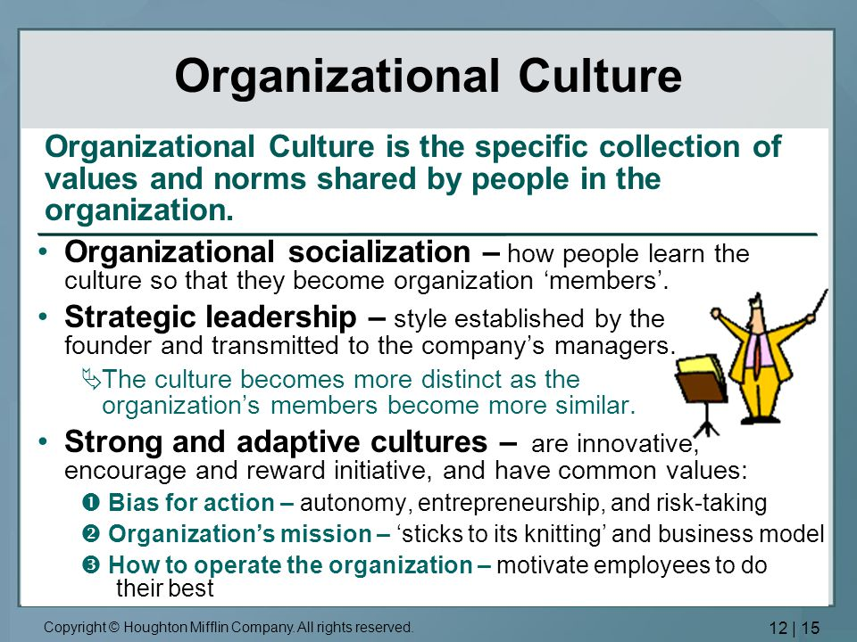 the role of managers in achieving a more adaptive culture in an organization Organisational culture  culture guided missile project-oriented culture eiffel tower role-oriented culture 1a 2c 3d 1d 2b 3c 1c  organization culture.