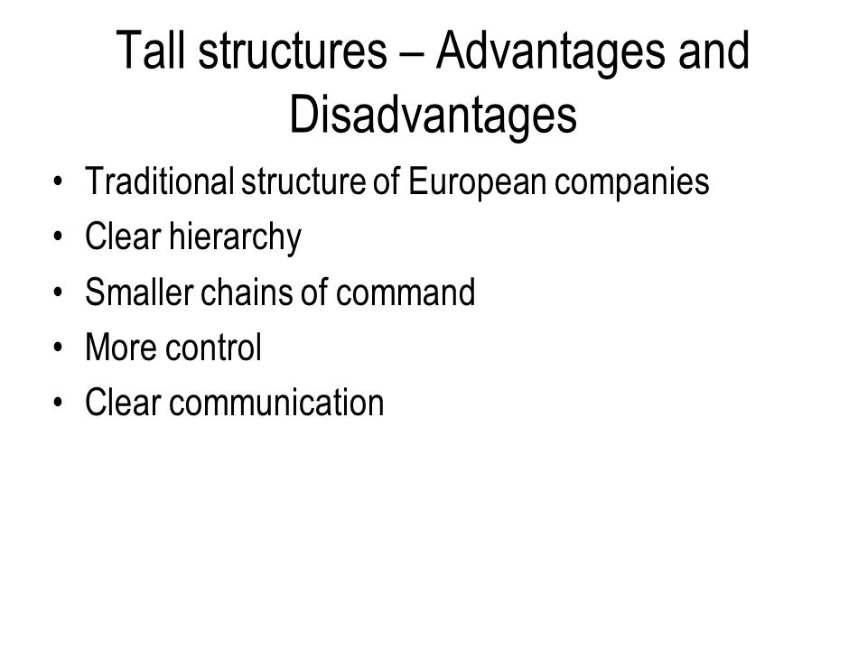 """what are some advantages and disadvantages of vertical hierarchy and vertical communication """"communication between department or people on the same level in the  managerial hierarchy  merits/importance/advantages of horizontal  communication:  direct communication by breaking the vertical channel  strengthens the bondage  disadvantages of horizontal communication are as  follows."""