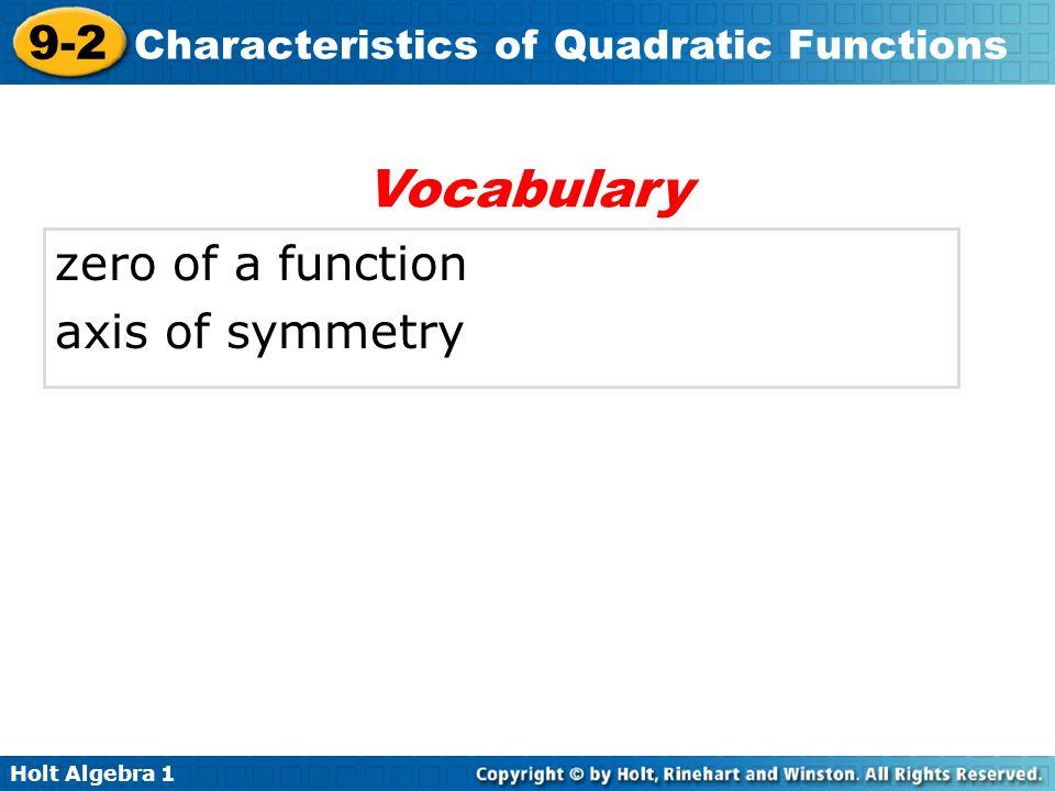 Characteristics Quadratic Functions Worksheet quiz worksheet – Quadratic Function Worksheet