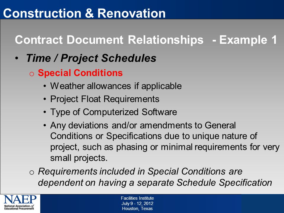 Ppt video online download for Allowances in construction contracts