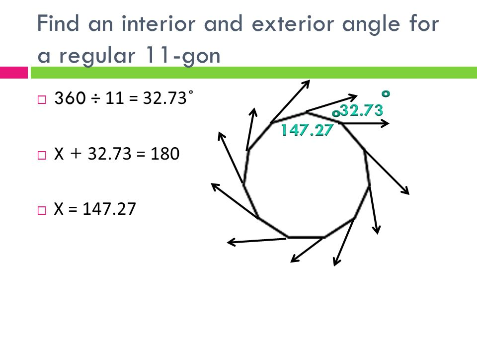 Find Angle Measures In Polygons Ppt Video Online Download