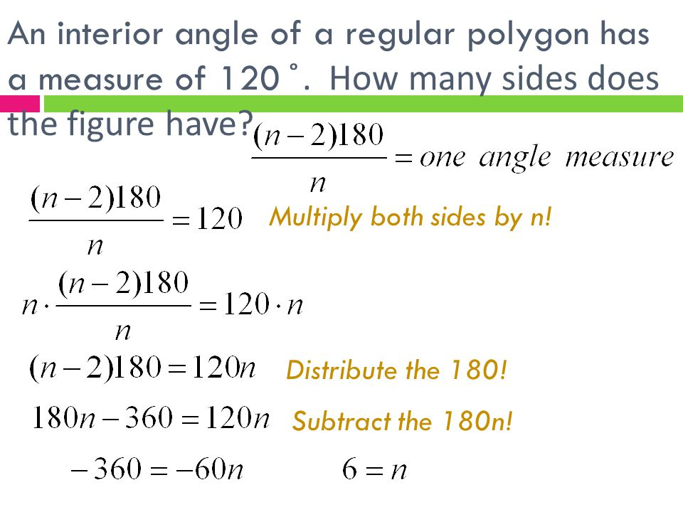 Find angle measures in polygons ppt video online download How do you work out exterior angles