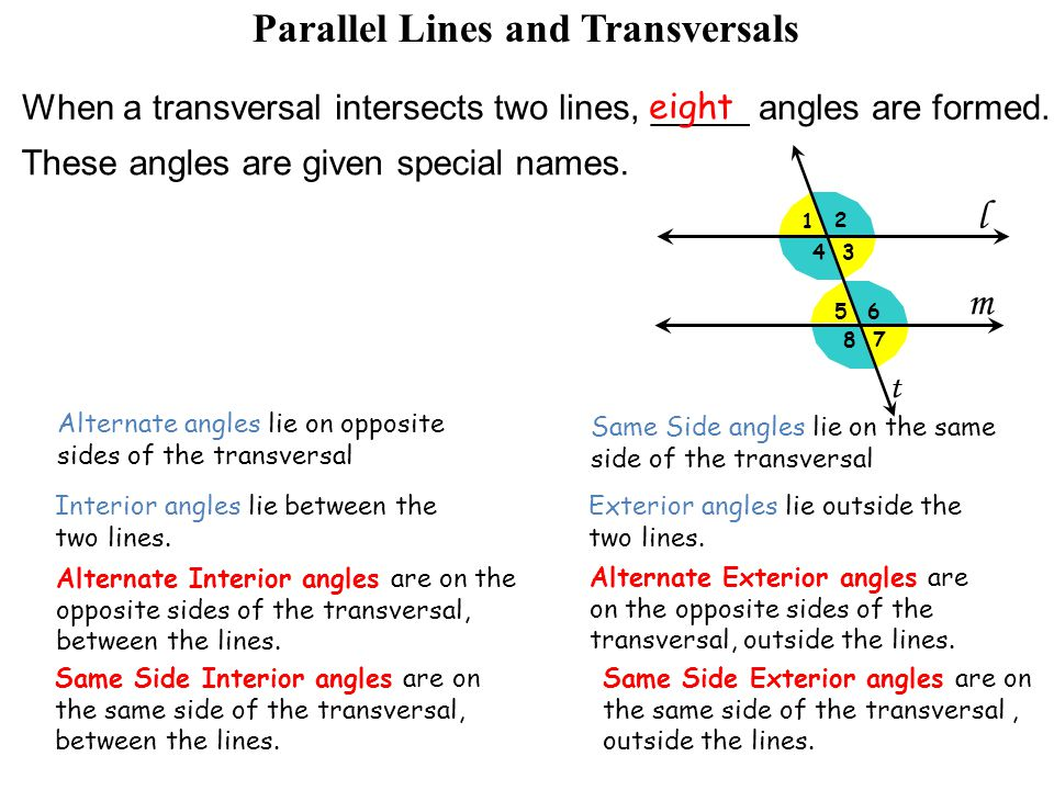 angles formed by parallel lines and transversals pdf