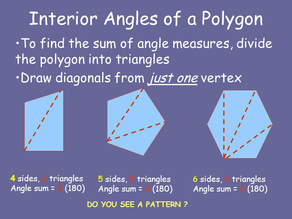 Geometry 3 5 Angles Of A Polygon Ppt Video Online Download