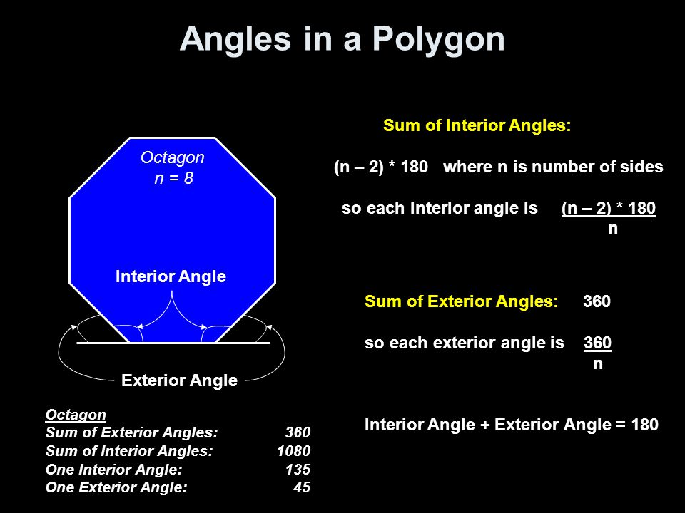 Lesson 8 1 Angles Of Polygons Ppt Video Online Download
