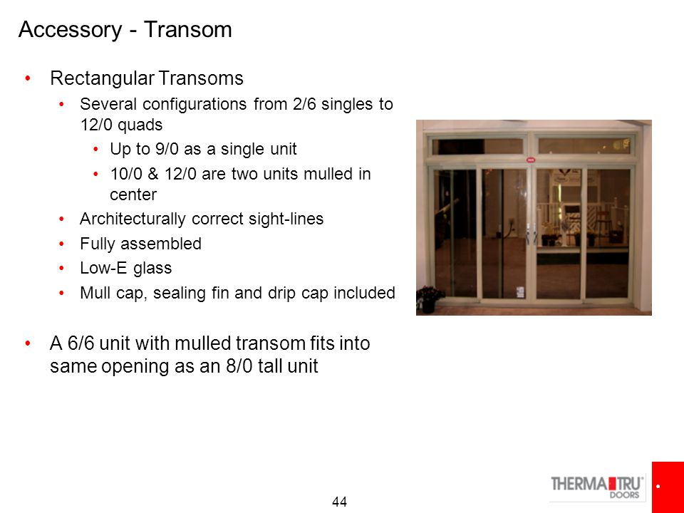 Best Product Line-Up - Patio Door Systems- - ppt video ...