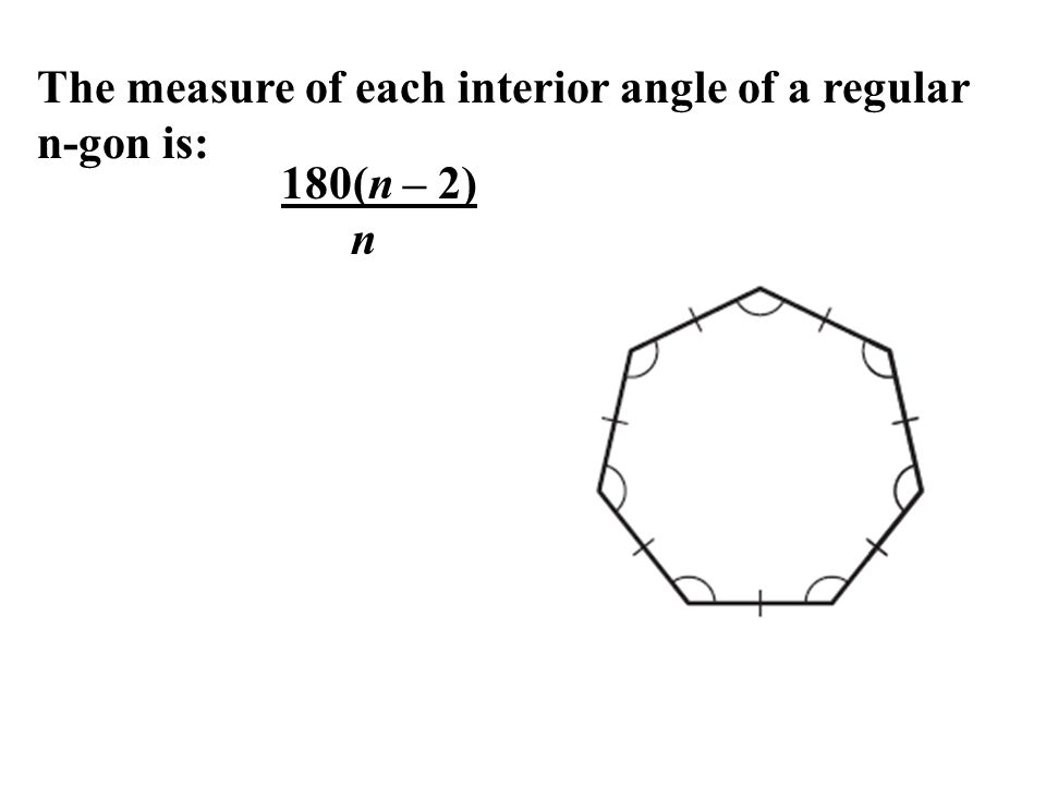 81 Find Angle Measures in Polygons ppt video online download