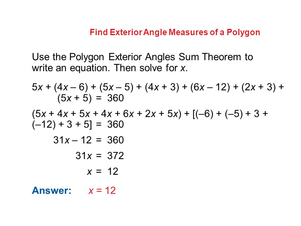 Regular Polygon Interior Angle Formula quiz worksheet angle – Regular Polygons Worksheet