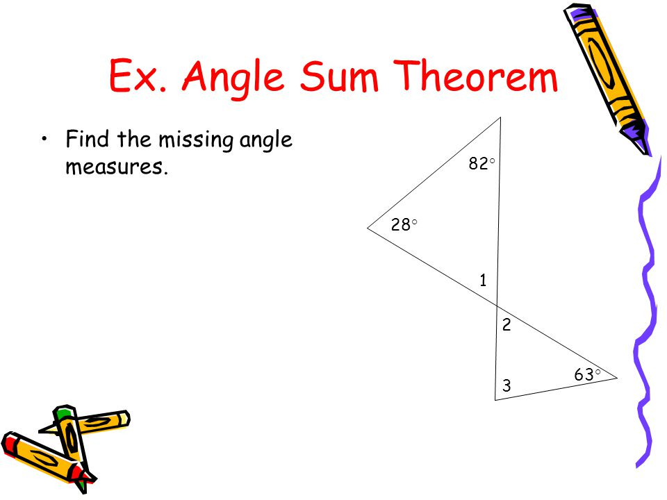 how to find the missing measure of a triangle