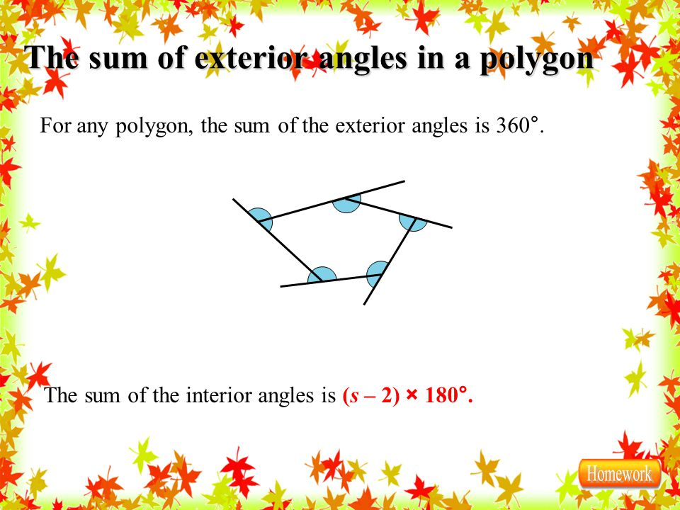 3 5 the triangle sum theorem ppt download - Sum of exterior angles of polygon ...