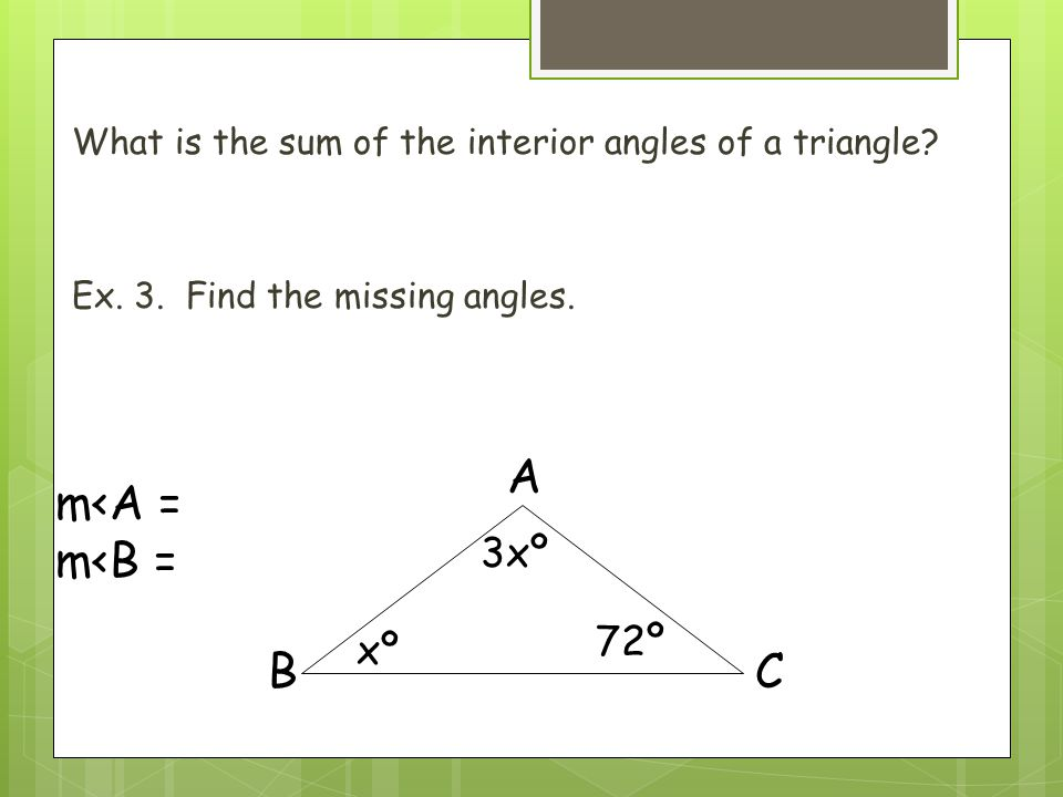 Geometry 6 1 Angles Of Polygons Ppt Video Online Download