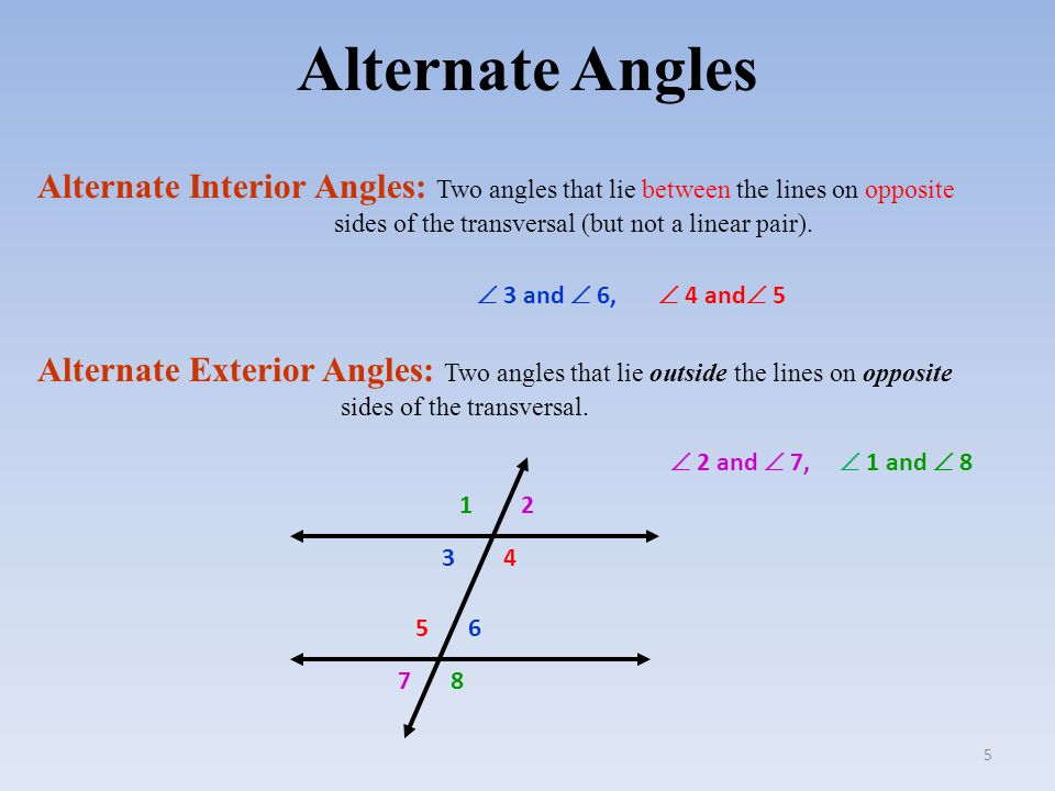Interior Angles On The Same Side Of Transversal Consecutive Interior Angles Theorem Chapter 3