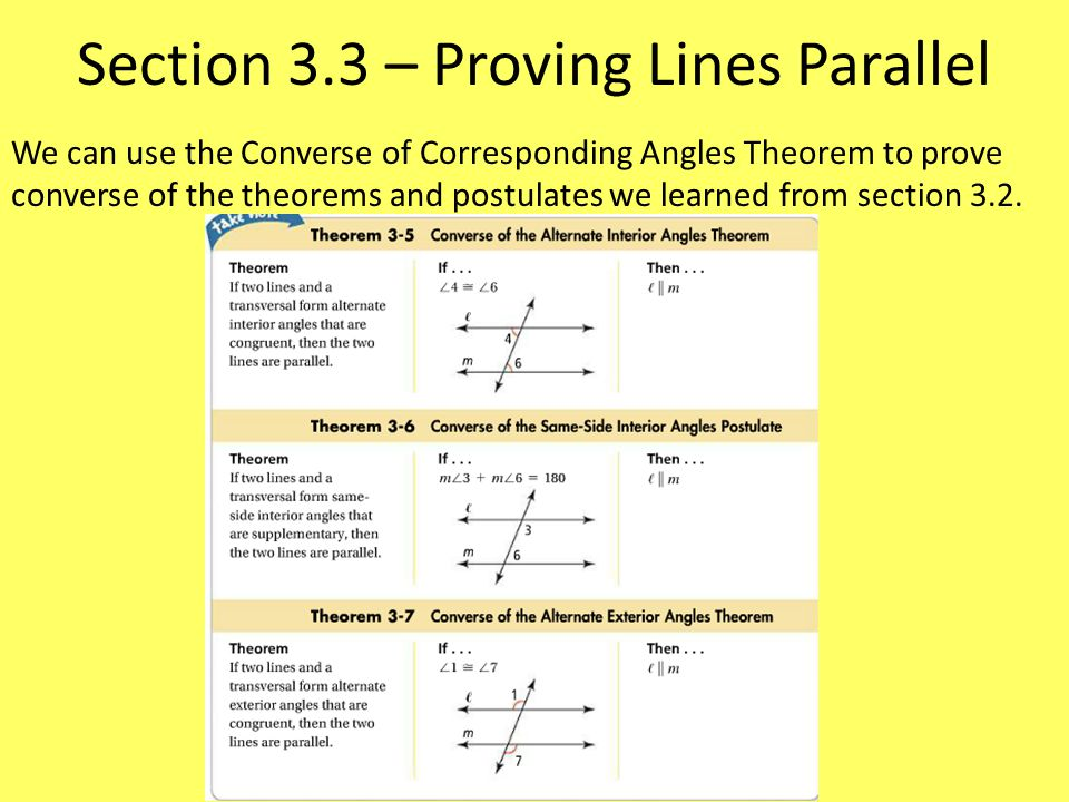 Ch 3 Parallel And Perpendicular Lines Ppt Video Online Download