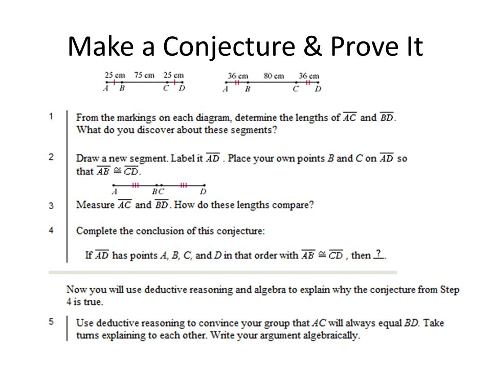 how to make a conjecture about a graph