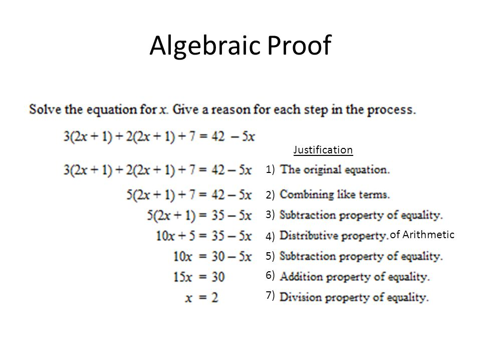 Class Notes Ch 2 Introduction to Logical Reasoning Algebraic and – Algebraic Proofs Worksheet with Answers